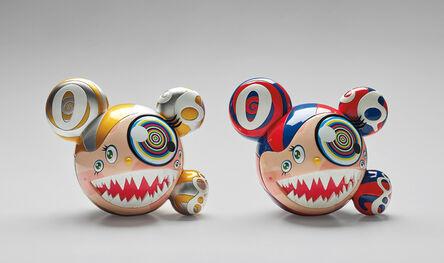 Takashi Murakami, 'ComplexCon: Mr. Dob (Red/Blue); and ComplexCon: Mr. Dob (Gold)', 2016