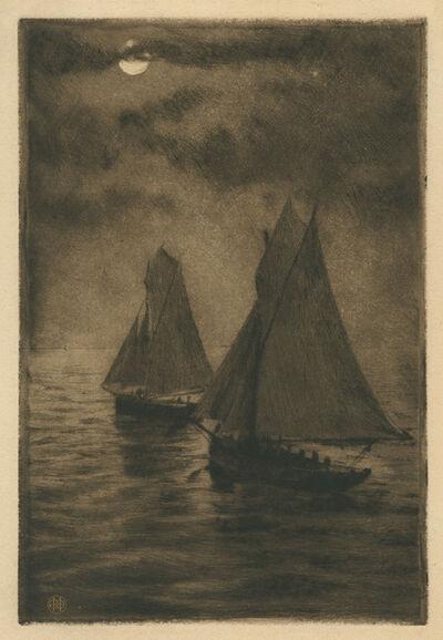 Henri-Charles Guérard, 'Depart pour la Pêche'