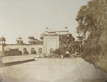 Dr. John Murray, 'Akbars Tomb, Sikandra, India.', ca. 1858