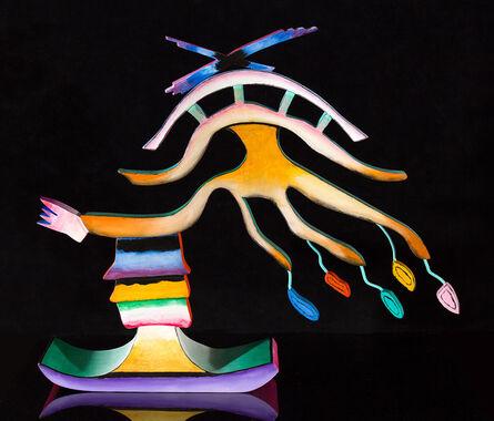 Ida Kohlmeyer, 'CIRCUS SERIES 3D #1', 1989