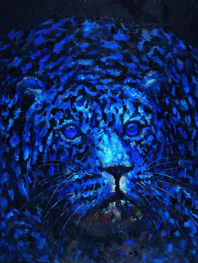 Liu Ruowang, 'One Leopard', 2017