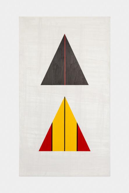 David Diao, 'Barnett Newman: The Triangle Paintings 2', 2014