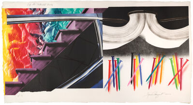 James Rosenquist, 'Off the Continental Divide', 1974