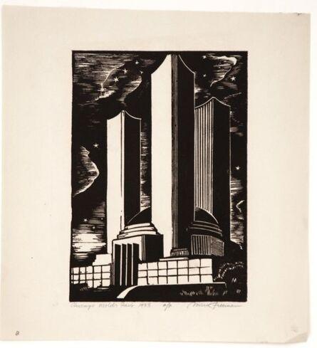 Mark Freeman, 'Chicago Worlds Fair (#1): Federal Building (Portfolio of 6)', 1933