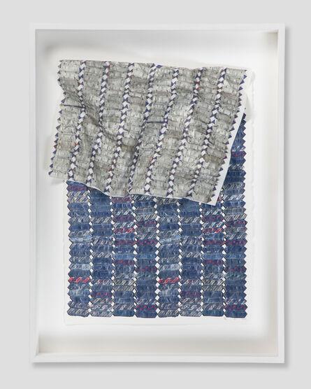 El Anatsui, 'Blue Variation ', 2015