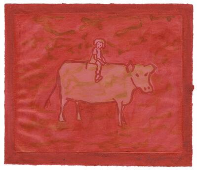 Ida Applebroog, 'Untitled (Girl with Cow)', 2003
