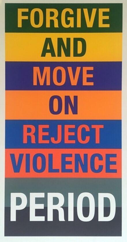 Diana Wege, 'Reject Violence ', 2017