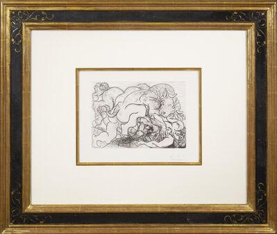 Pablo Picasso, 'Minotaure attaquant une Amazone', 1933