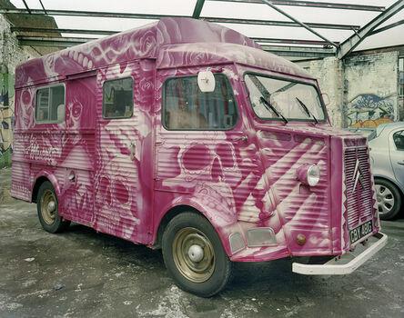 Jim Dow, 'Luardo's #2 Taco Truck Parked in Storage, Dalston, London, UK', 2013