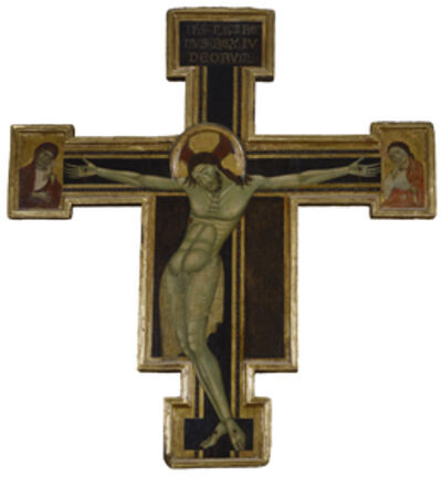 'Crucifix with Mourning Virgin and St. John the Evangelist', ca. 1270-1290