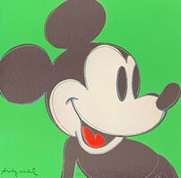 Andy Warhol, 'Mickey Mouse (Green)', 1986
