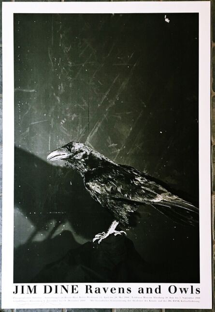 Jim Dine, 'Raven and Owls (Hand Signed)', 2000