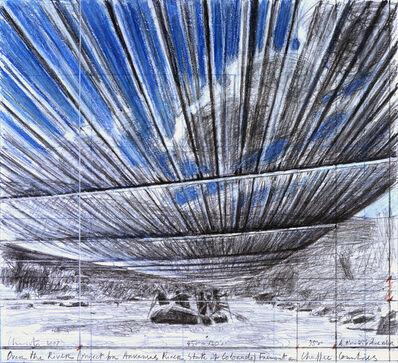Christo, 'Over The River B', 2007