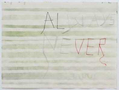Julia Kuhl, 'Always Never', 2019
