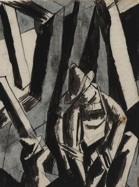 David Bomberg, 'Study for Ghetto Theatre I', 191-1920