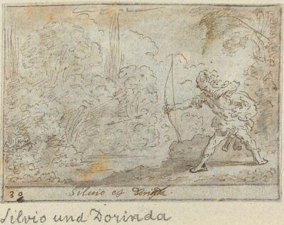 Johann Wilhelm Baur, 'Silvio and Dorinda', 1640