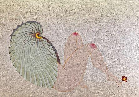 Li Ping-Yi 李屏宜, 'Shell Lady-Bring you a little red flower', 2019