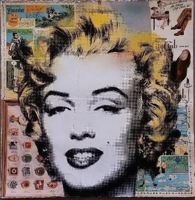 Mr. Brainwash, 'Marilyn', 2106