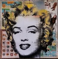 Mr. Brainwash, 'Marilyn', 2106