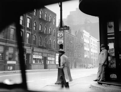 Art Shay, 'Halsted Street, Chicago, 1949'