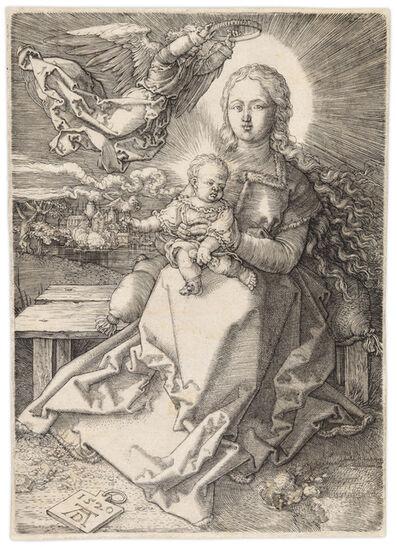 Albrecht Dürer, 'MADONNA CROWNED BY ONE ANGEL', 1520
