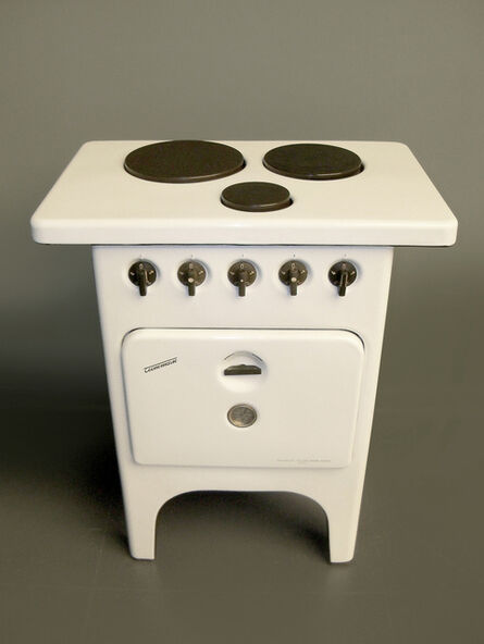 Tecnomasio Italiano Brown Boveri, 'Cucina elettrica tipo CN3 a tre piastre con forno', 1949