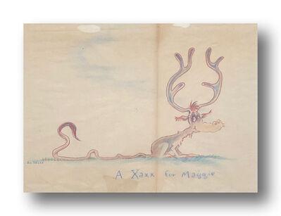 Dr. Seuss, 'A Xaxx for Maggie ', ca. 1940s