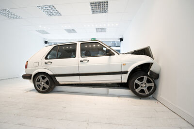 Jonathan Schipper, 'Slow Motion Car Crash', To be installed at The Armory Show-2016