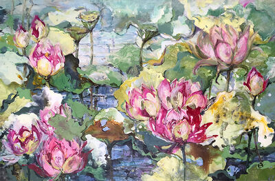 Dianne Ogg, 'Pink Lotus I '