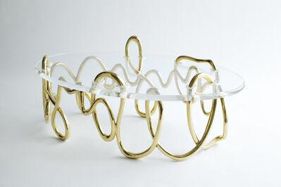 Mattia Bonetti, 'Oval Meander coffee table', 2011