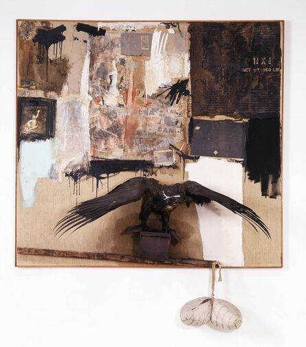 Robert Rauschenberg, 'Canyon', 1959
