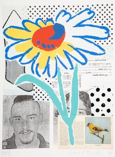 Donald Baechler, 'The Benefit Flower', 1998