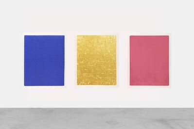 Yves Klein, 'Triptyque', 2020