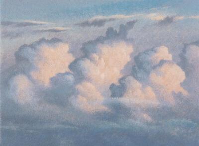 James Lynch (b. 1956), 'Towering Cumulus, September'