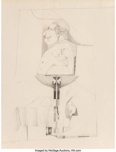 Richard Lindner, 'European Dream', 1955