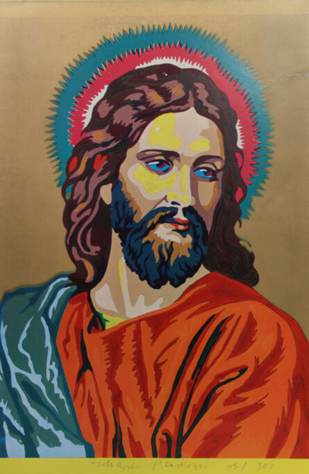 Eduardo Paolozzi, 'Jesus Colour by Numbers from General Dynamic F.U.N. Portfolio', 1970