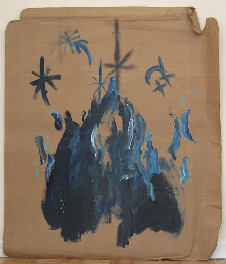 Oscar Figueroa, 'Portrait of Blue Fire', 2017
