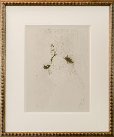 """Henri de Toulouse-Lautrec, '""""Cecy Lofthus"""" La Promeneuse', 1950"""