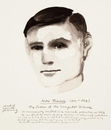 Marlene Dumas, 'Alan Turing ', 2015