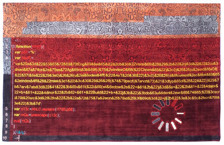 Caturegli & Formica, 'CF V5 – Virus collection carpet', 2015