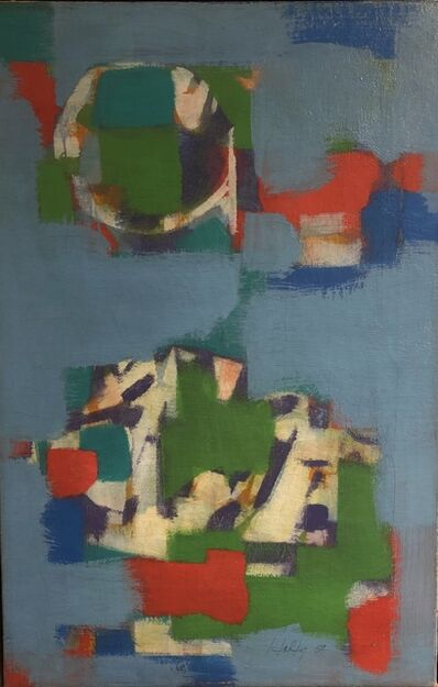 Carl Holty, 'Untitled Abstraction', 1959