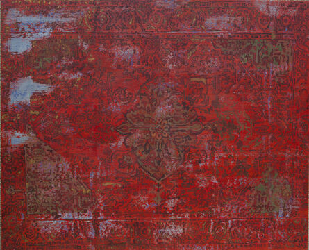G.R. Iranna, 'Red Carpet', 2015
