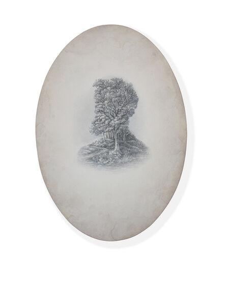 Sue Williams A' Court, 'Escape from Eden (Conard Wood)', 2015