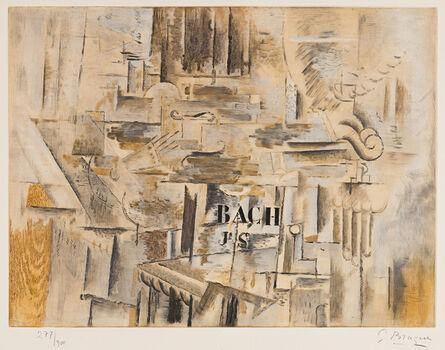 Georges Braque, 'Hommage à J. S. Bach', 1950
