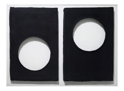 Dadamaino, 'BLACK exhibition', 2014