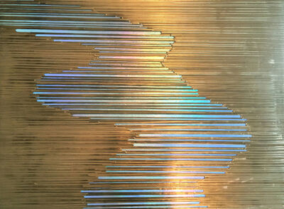 Sylvia Hommert, 'Liquid Gold Waterway', 2017