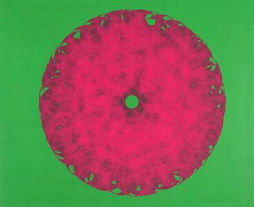 Soonja Han, 'Pink flower'
