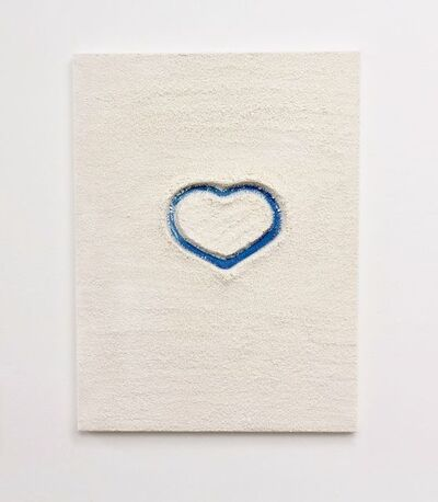 Bettina Werner, 'Light Blue Heart', 2014