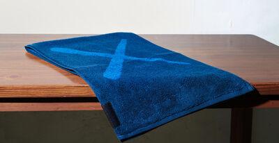 KAWS, 'Holiday Towel (Navy)', 2018