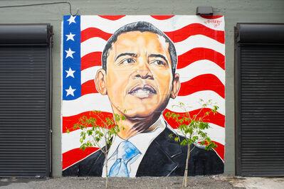 Serge Toussaint, 'President Barack Obama', 2017